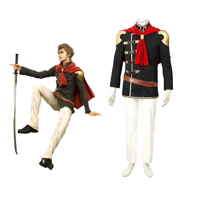 Final Fantasy Type-0 Jack 1 Anime Cosplay Costumes Outfit
