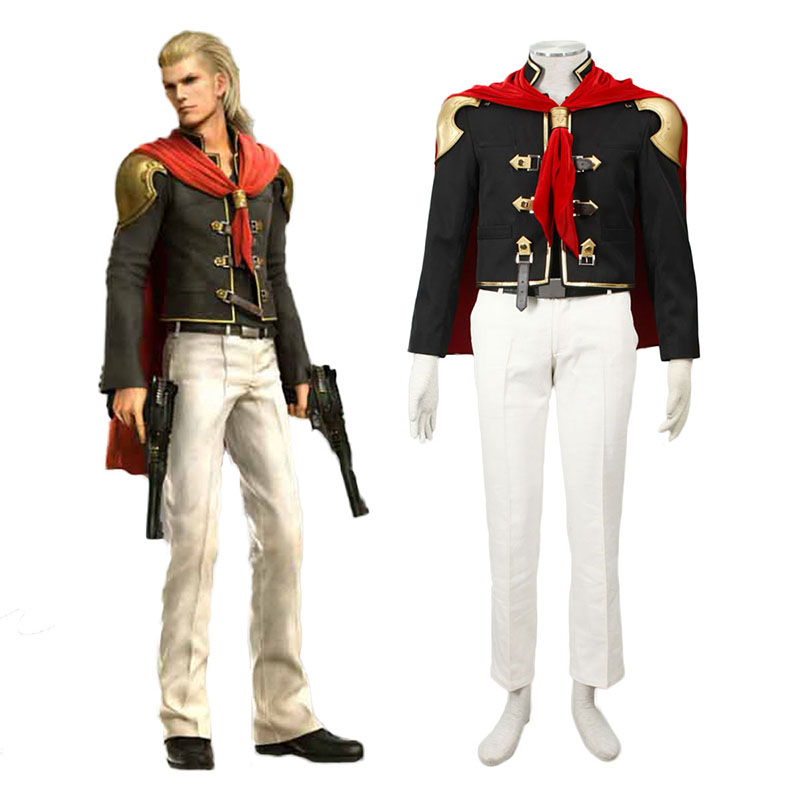 Final Fantasy Type-0 King 1 Anime Cosplay Costumes Outfit