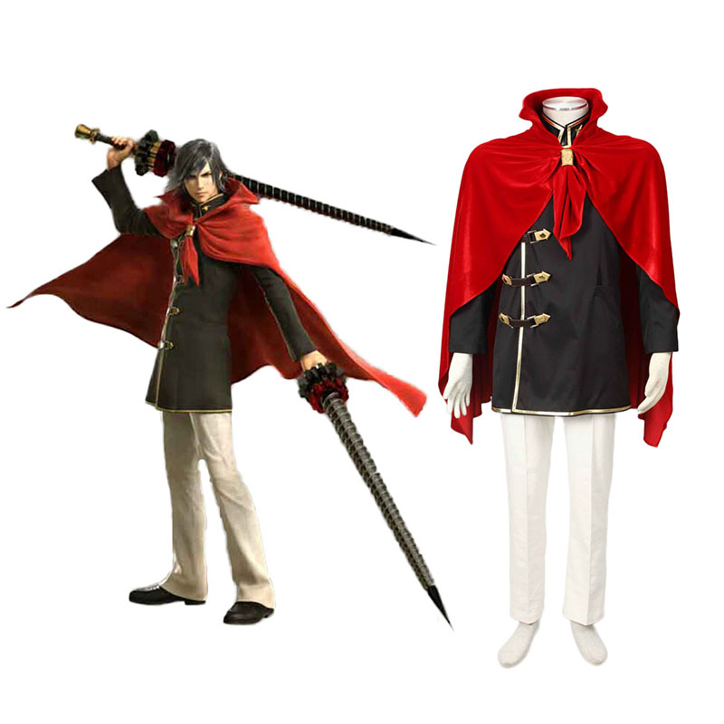 Final Fantasy Type-0 Machina Kunagiri 1 Anime Cosplay Costumes Outfit
