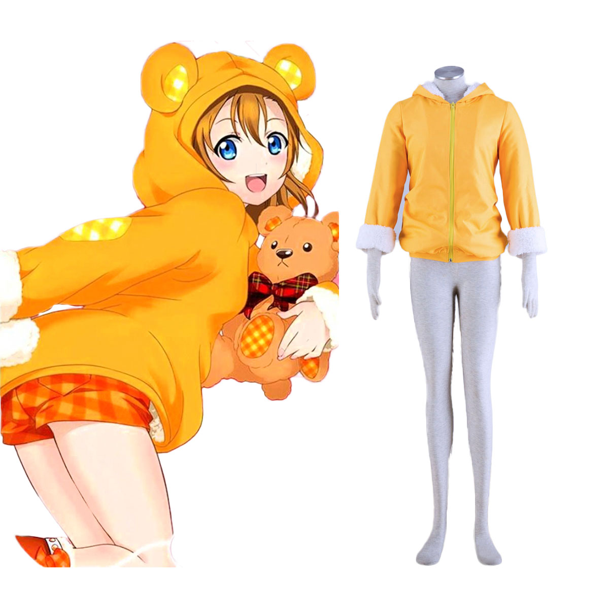Love Live! Honoka Kousaka 2 Anime Cosplay Costumes Outfit