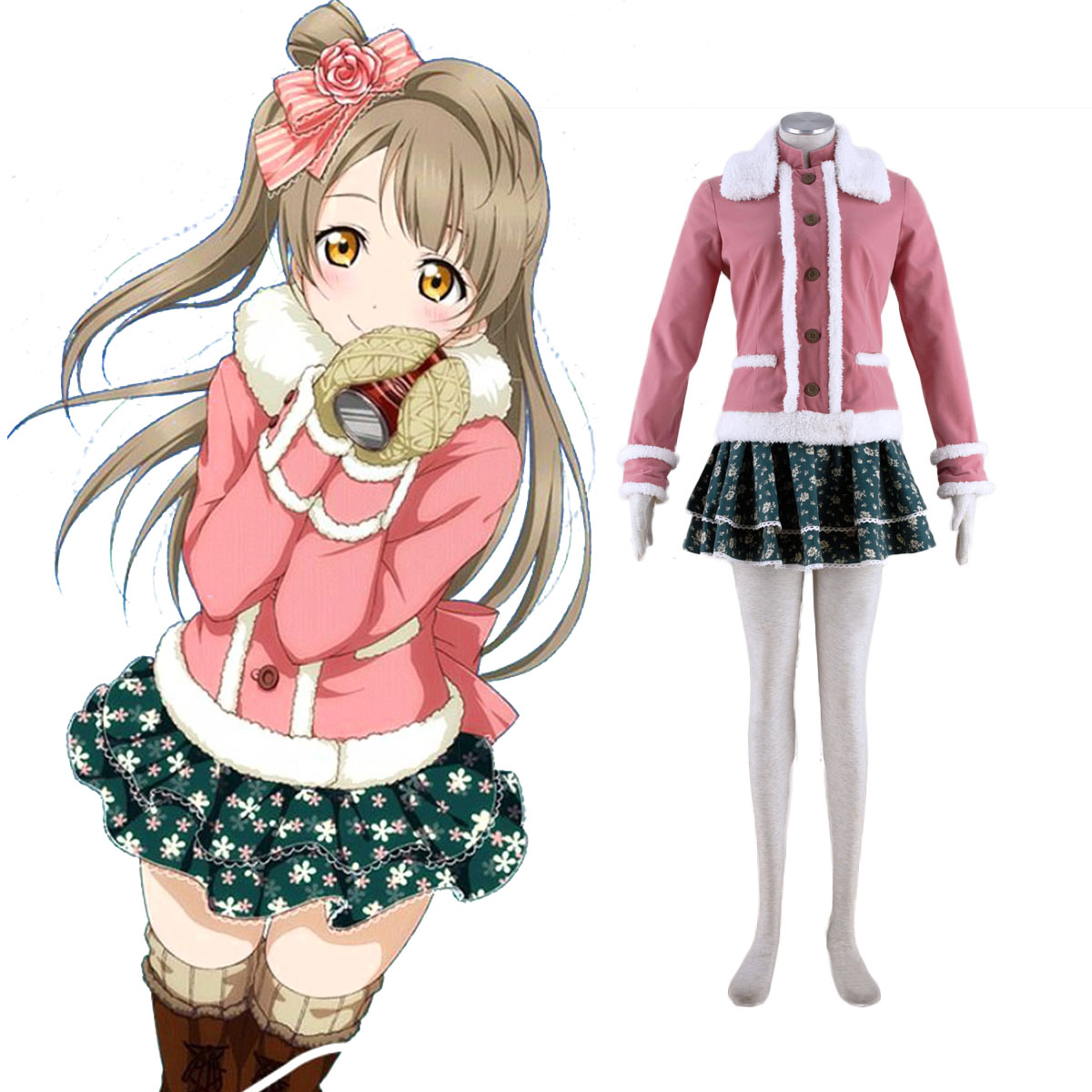 love live  kotori minami 2 anime cosplay costumes outfit