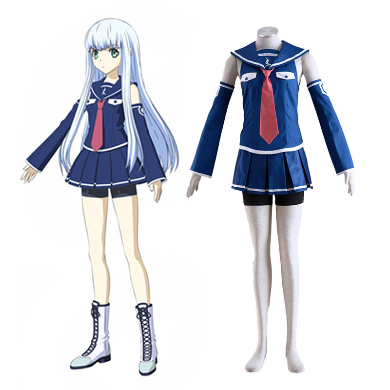 Arpeggio of Blue Steel Iona Anime Cosplay Costumes Outfit