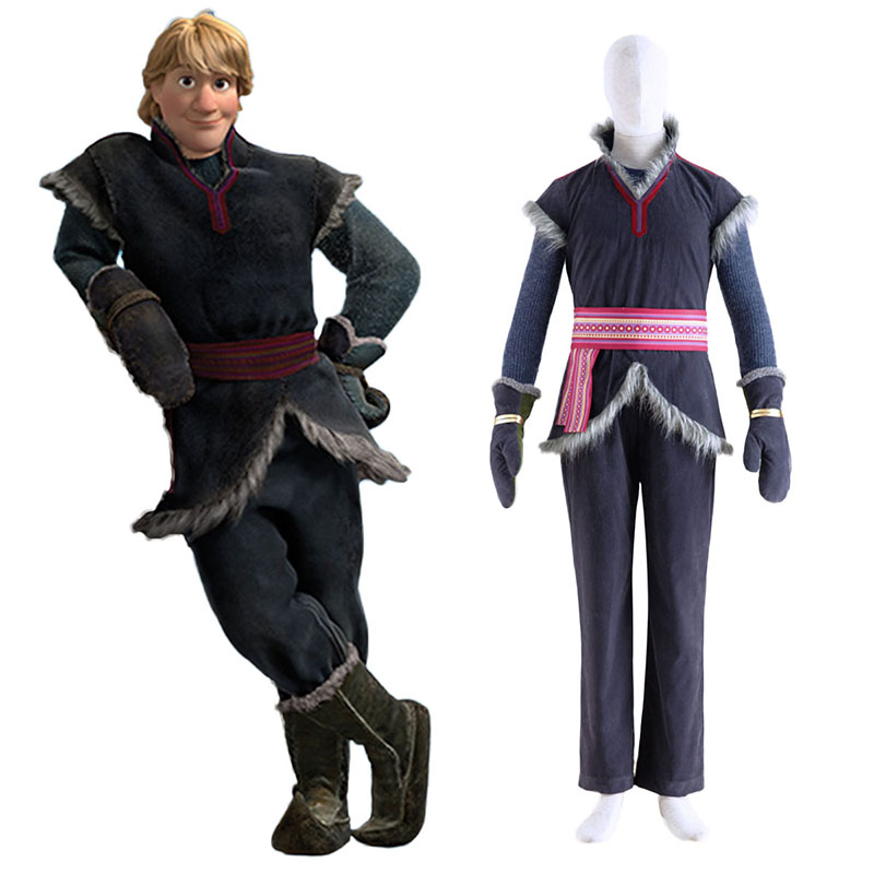 Frozen Kristoff 1 Anime Cosplay Costumes Outfit