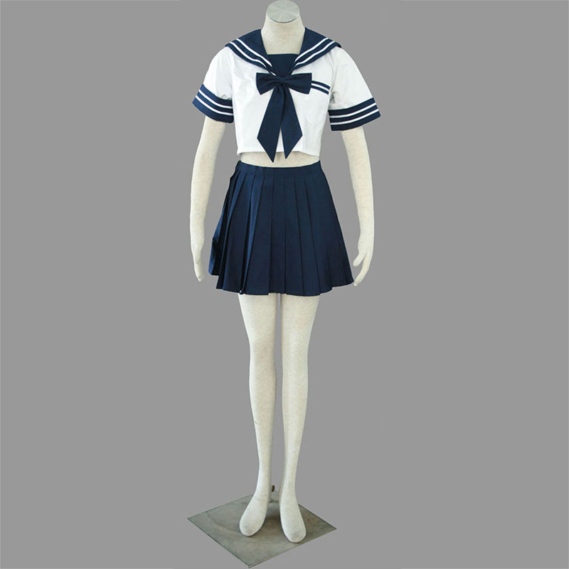 Sailor Uniform 4 High School Anime Cosplay Costumes Outfit