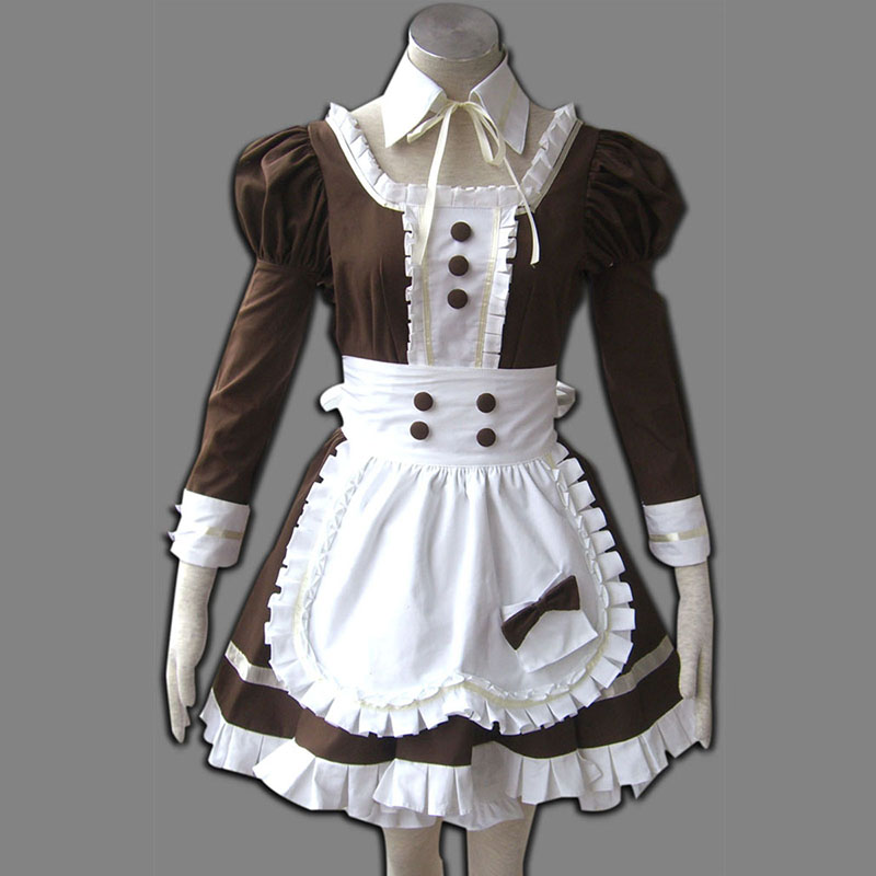 Maid Uniform 4 Coffee Whispery Anime Cosplay Costumes Outfit