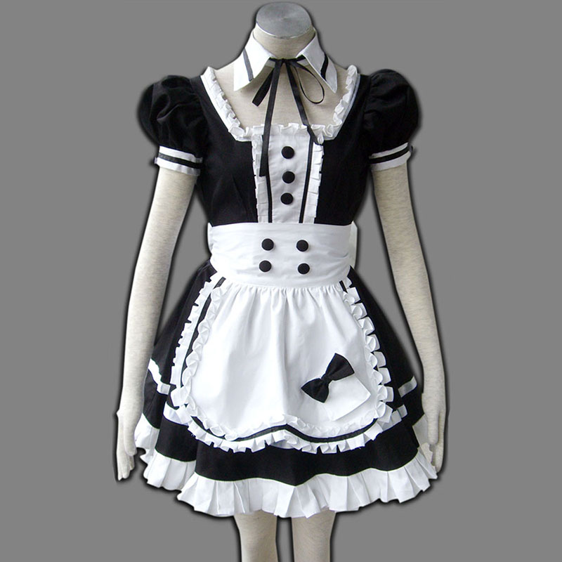 Maid Uniform 5 Princess Of Dark Anime Cosplay Costumes Outfit