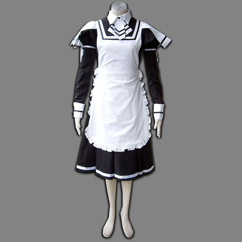 Maid Uniform 7 Deadly Weapon Anime Cosplay Costumes Outfit