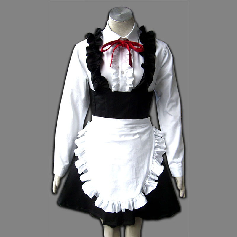 Maid Uniform 8 Pure Spirit Anime Cosplay Costumes Outfit
