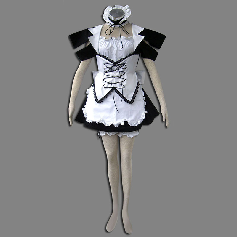Maid Uniform 13 Wind Spirit Anime Cosplay Costumes Outfit