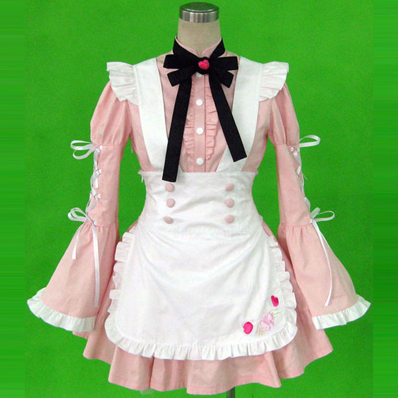 Maid Uniform 14 Cherry Snow Anime Cosplay Costumes Outfit