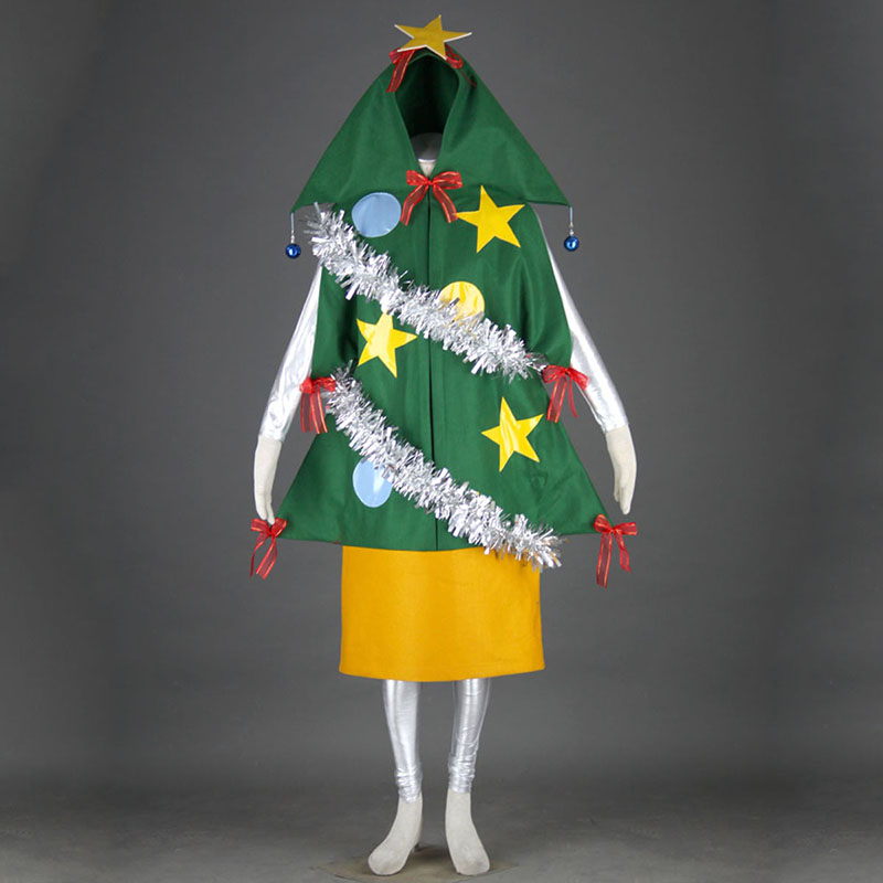 Christmas Tree 1 Anime Cosplay Costumes Outfit