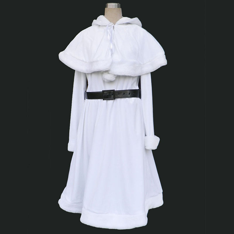 Christmas Lady Dress 10 Anime Cosplay Costumes Outfit