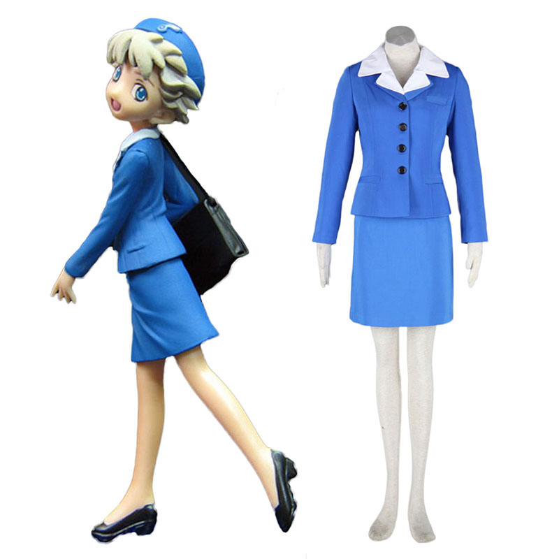 Aviation Uniform Culture Stewardess 2 Anime Cosplay Costumes Outfit