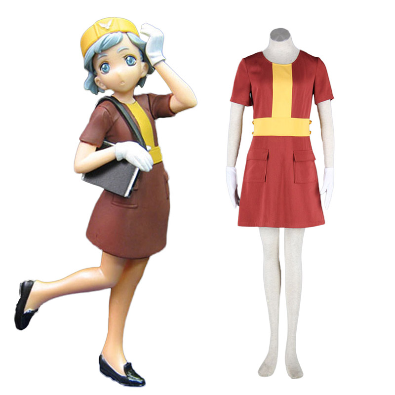 Aviation Uniform Culture Stewardess 4 Anime Cosplay Costumes Outfit