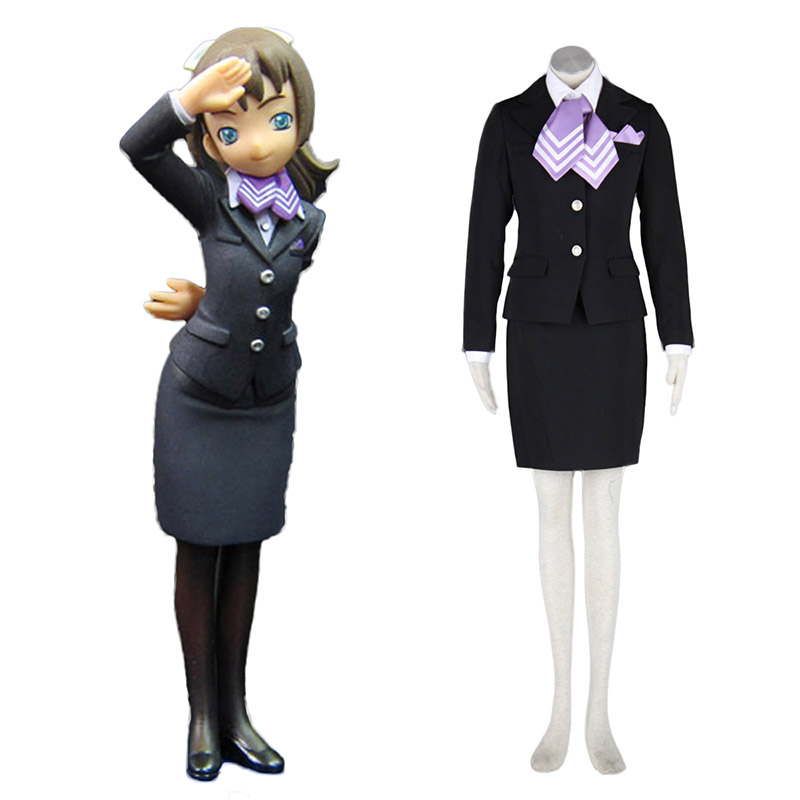 Aviation Uniform Culture Stewardess 9 Anime Cosplay Costumes Outfit