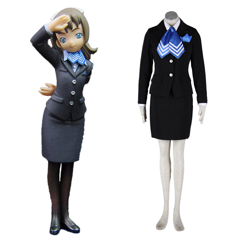 Aviation Uniform Culture Stewardess 10 Anime Cosplay Costumes Outfit