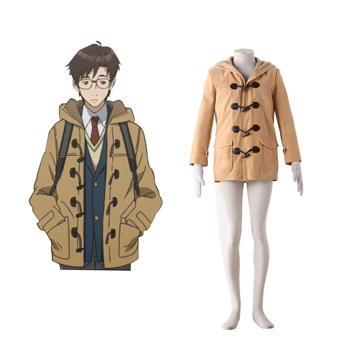 Parasitic Beasts Shinichi Izumi 1 Anime Cosplay Costumes Outfit
