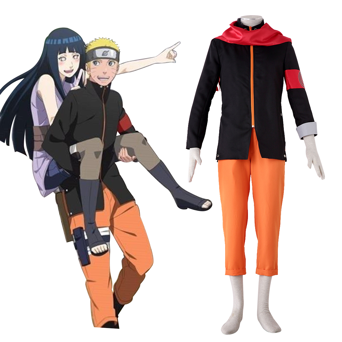 Naruto The Last Naruto 8 Anime Cosplay Costumes Outfit