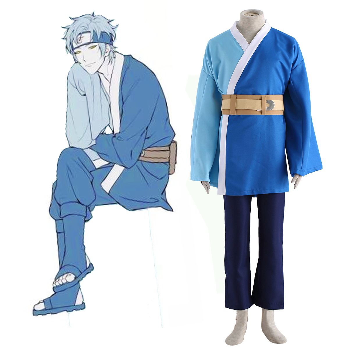 Naruto Mitsuki 1 Anime Cosplay Costumes Outfit