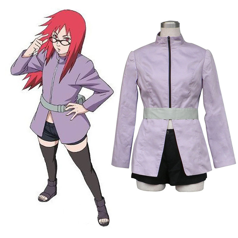 Naruto Karin 1 Anime Cosplay Costumes Outfit