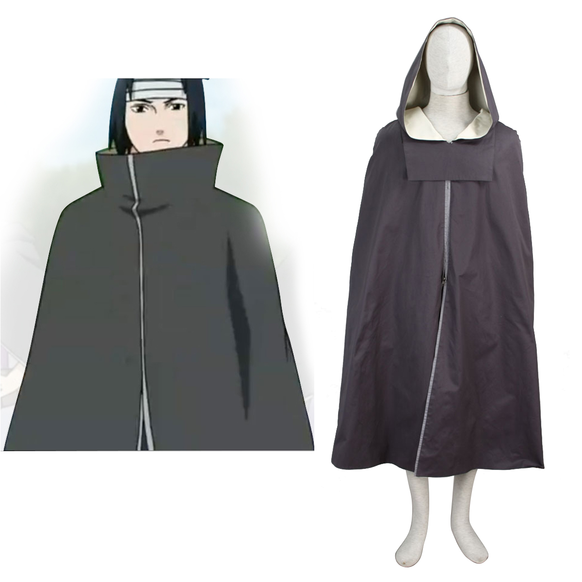 Naruto Taka Organization Cloak 1 Anime Cosplay Costumes Outfit