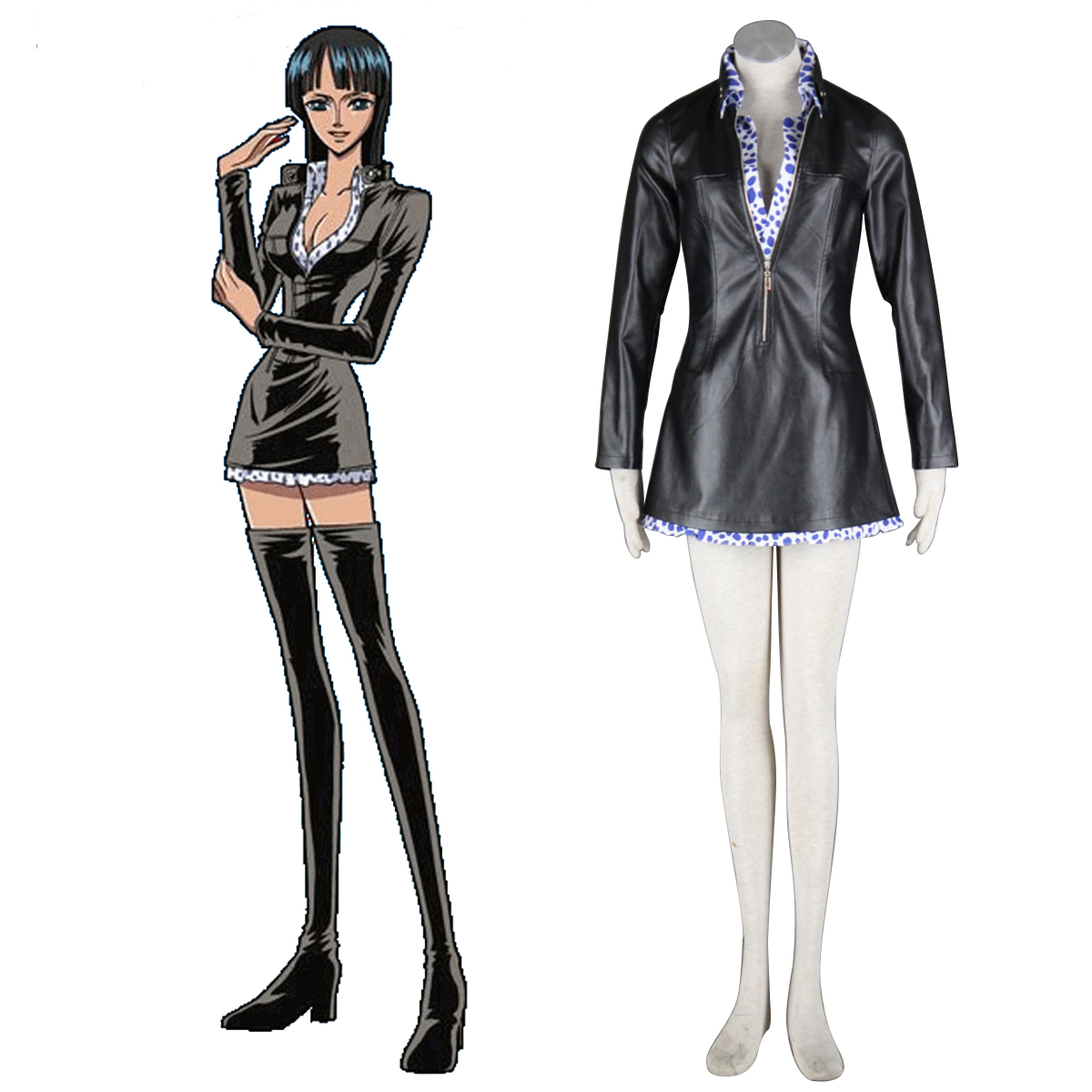 One Piece Nico·Robin 1 Anime Cosplay Costumes Outfit