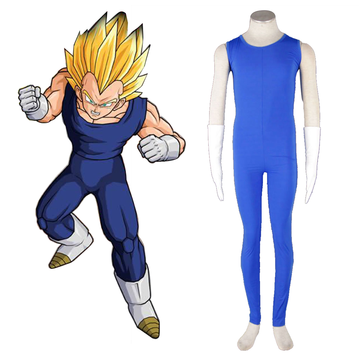 Dragon Ball Vegeta 2 Anime Cosplay Costumes Outfit