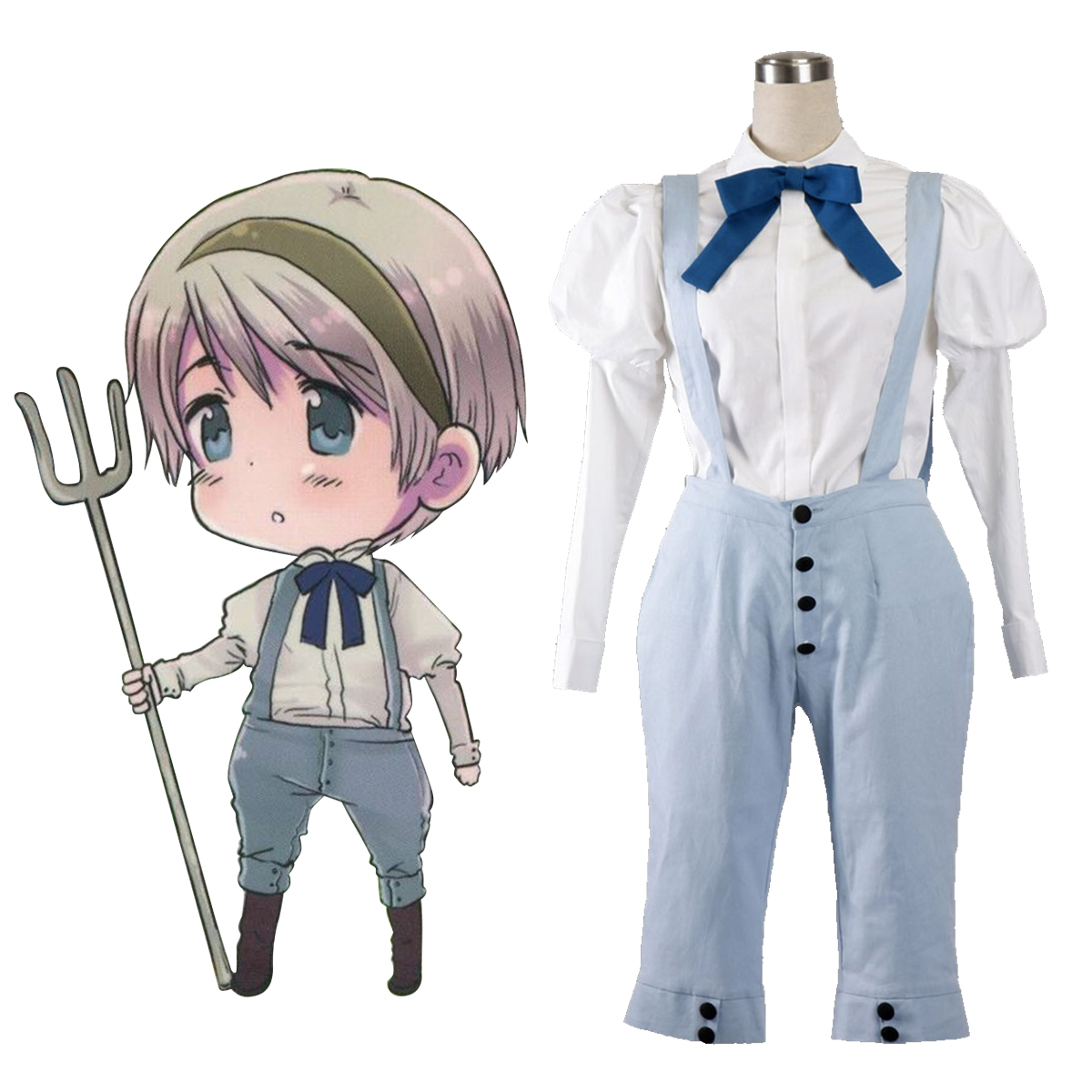 Axis Powers Hetalia Ukraine 1 Anime Cosplay Costumes Outfit