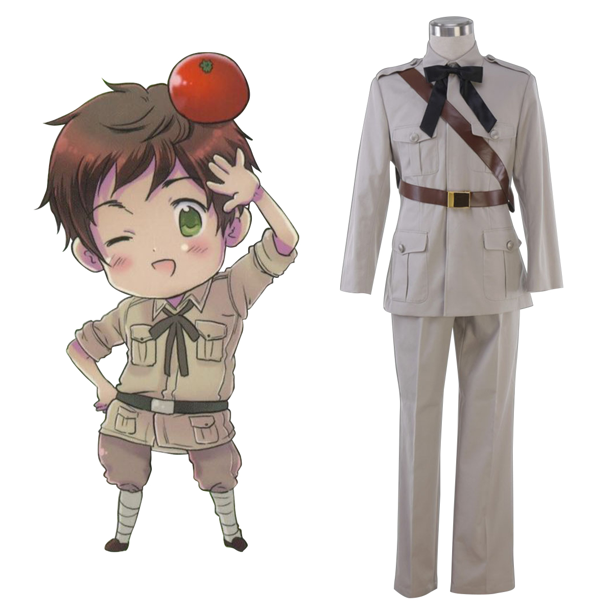 Axis Powers Hetalia Spain Antonio Fernandez Carriedo 1 Anime Cosplay Costumes Outfit