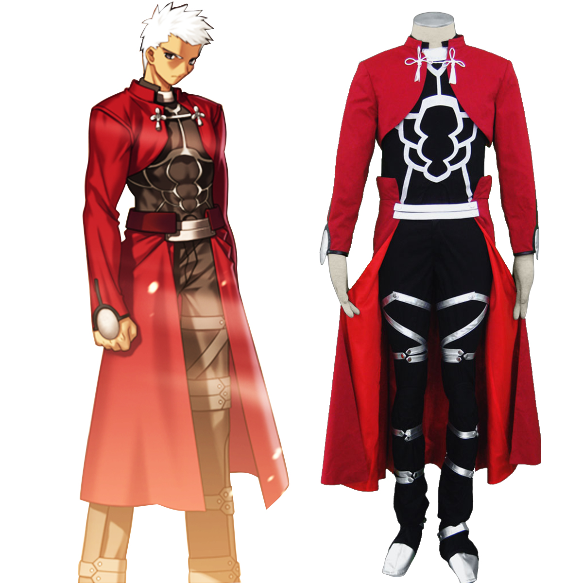 The Holy Grail War Archer Anime Cosplay Costumes Outfit