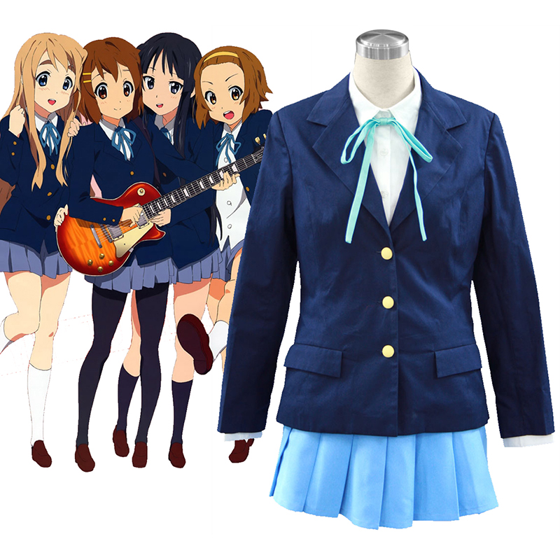 K-ON! Kotobuki Tsumugi 2 Anime Cosplay Costumes Outfit