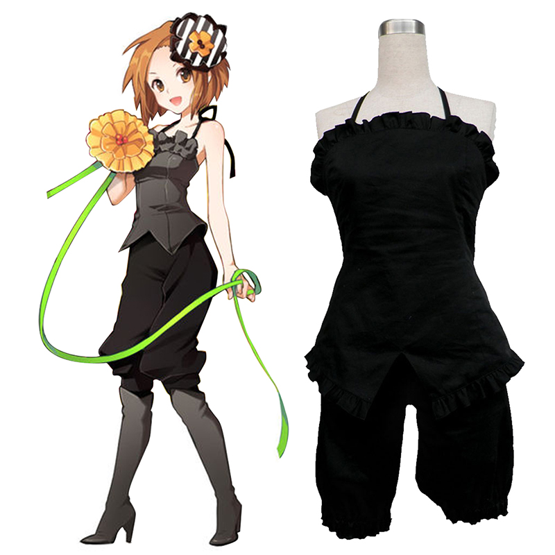 K-ON! Tainaka Ritsu 1 Anime Cosplay Costumes Outfit