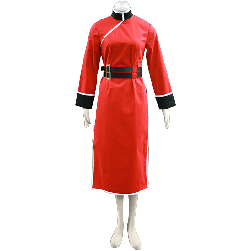 Gin Tama Kagura 4 Anime Cosplay Costumes Outfit