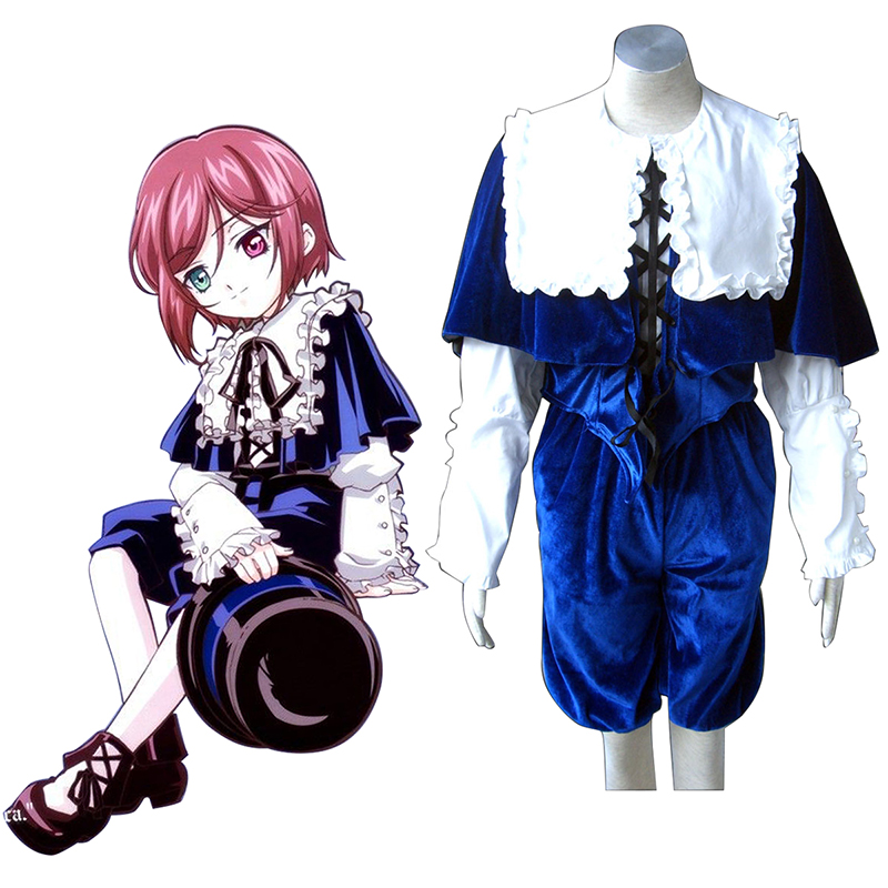 Rozen Maiden Souseiseki Anime Cosplay Costumes Outfit