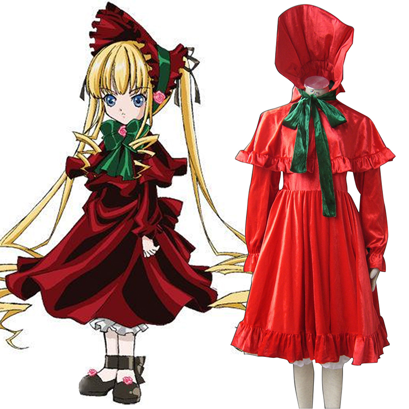 Rozen Maiden Shinku Anime Cosplay Costumes Outfit