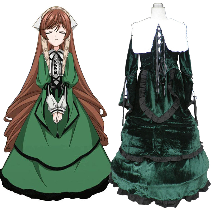 Rozen Maiden Suiseiseki Anime Cosplay Costumes Outfit