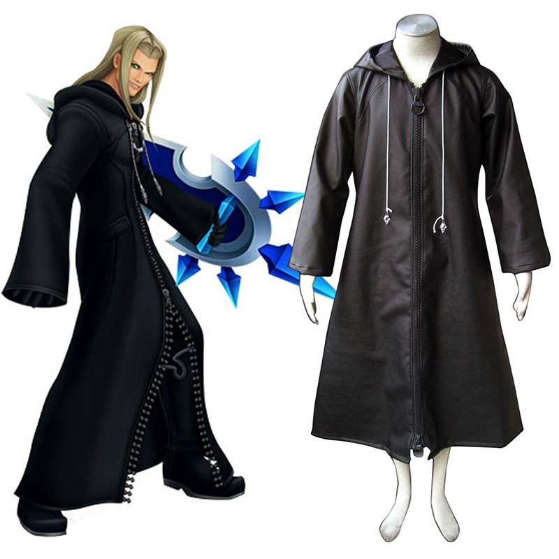 Kingdom Hearts Organization XIII Vexen 1 Anime Cosplay Costumes Outfit