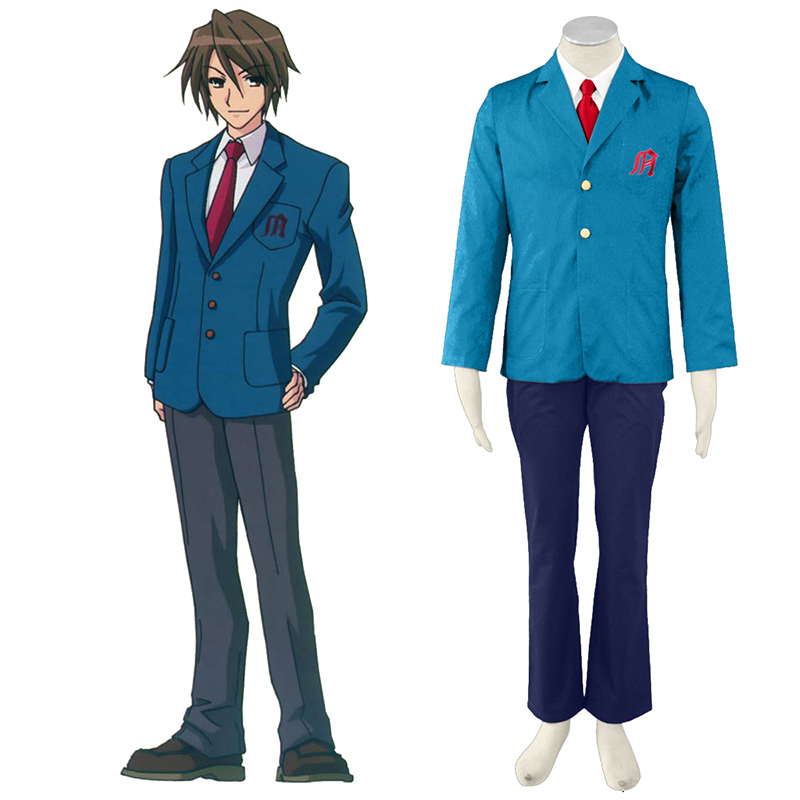 Haruhi Suzumiya Kyon 1 Anime Cosplay Costumes Outfit