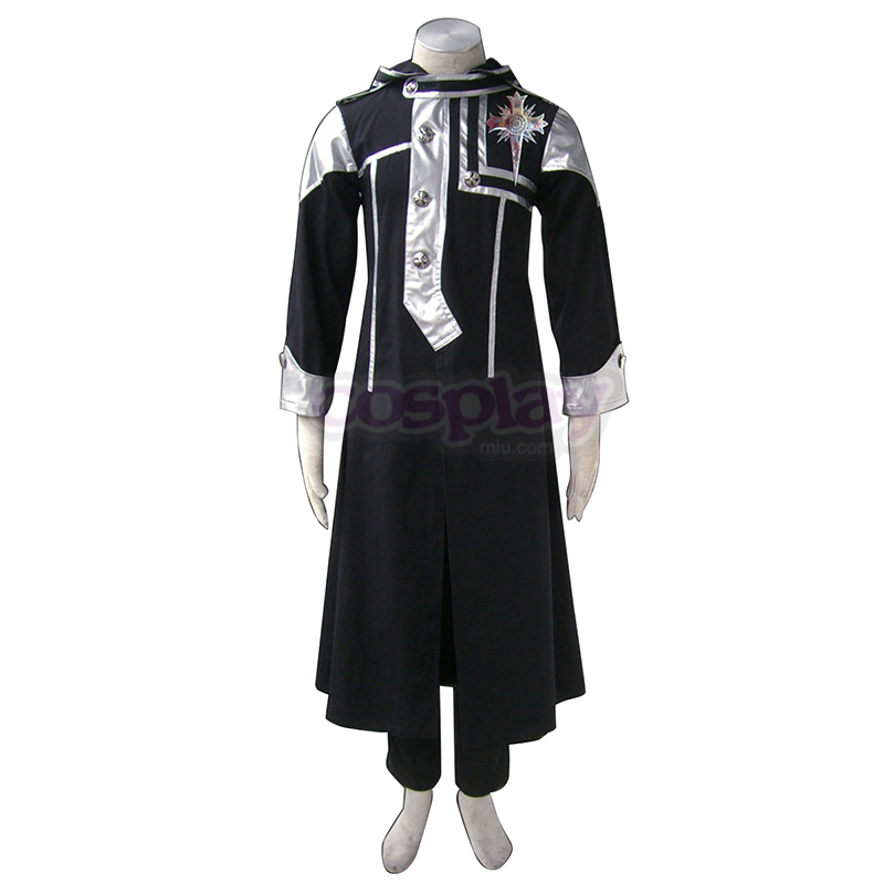 D.Gray-man Allen Walker 1 Anime Cosplay Costumes Outfit