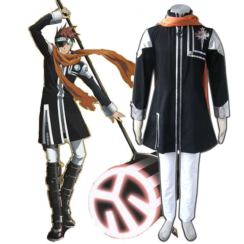 D.Gray-man Lavi 1 Anime Cosplay Costumes Outfit