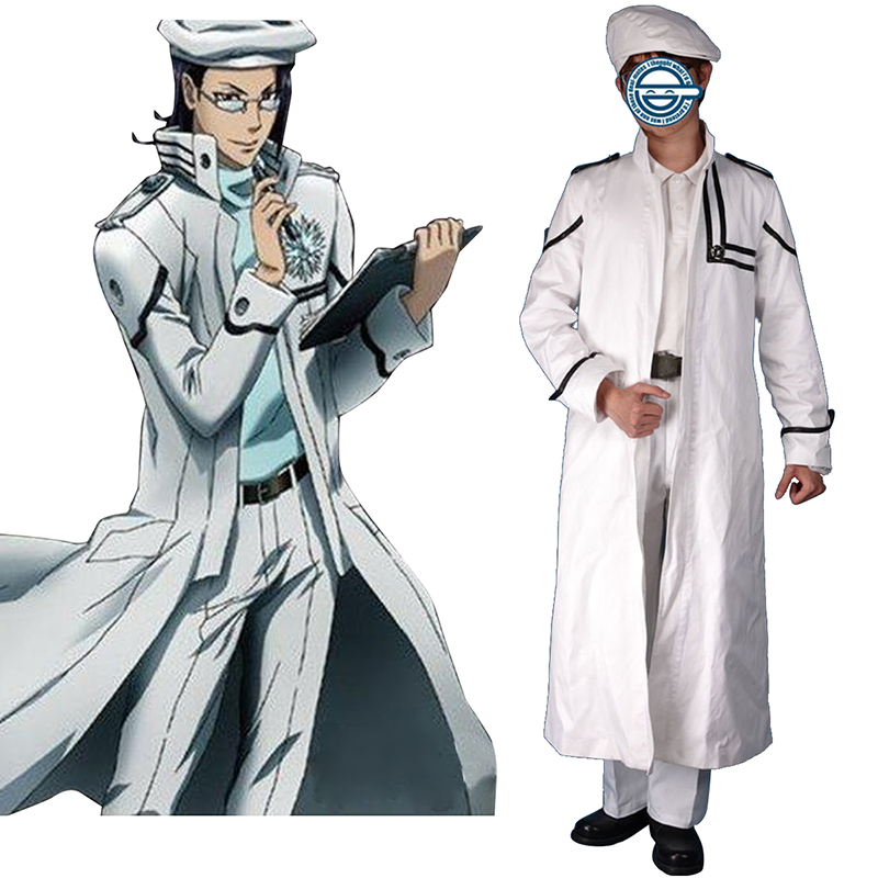 D.Gray-man Komui Lee 1 Anime Cosplay Costumes Outfit
