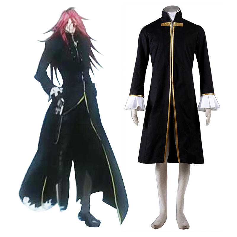 D.Gray-man Cross Maria 1 Anime Cosplay Costumes Outfit