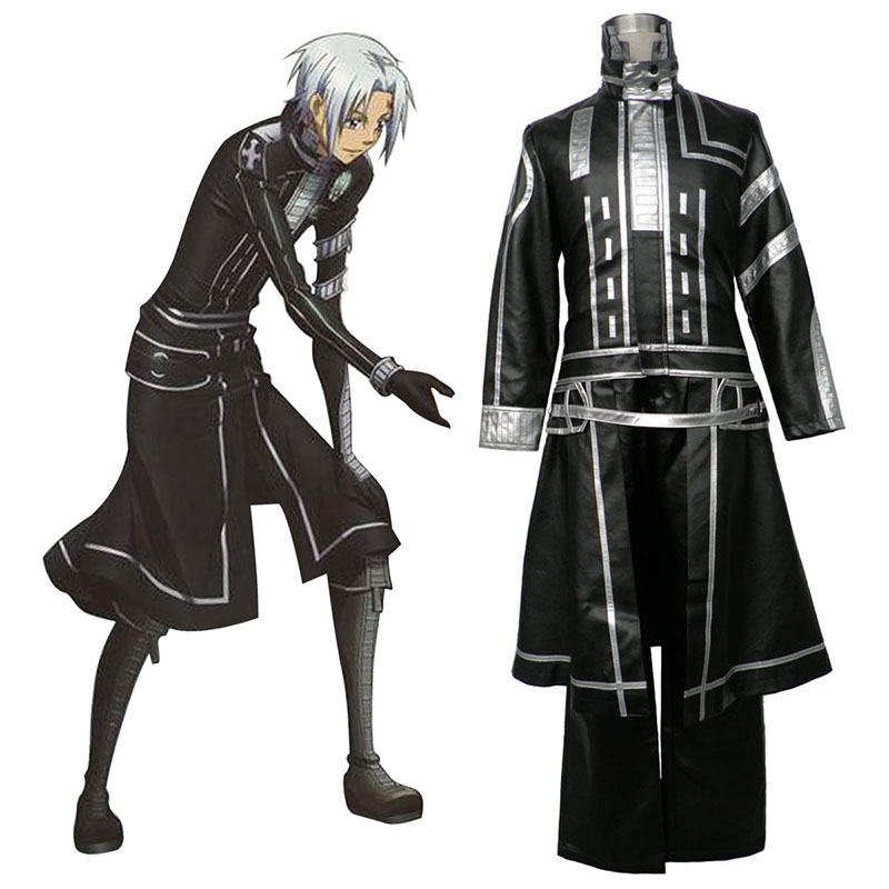 D.Gray-man Allen Walker 2 Anime Cosplay Costumes Outfit