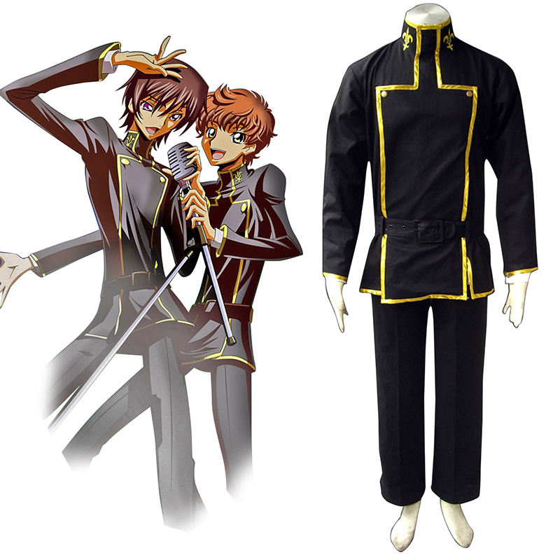 Code Geass Lelouch Lamperouge 1 Anime Cosplay Costumes Outfit