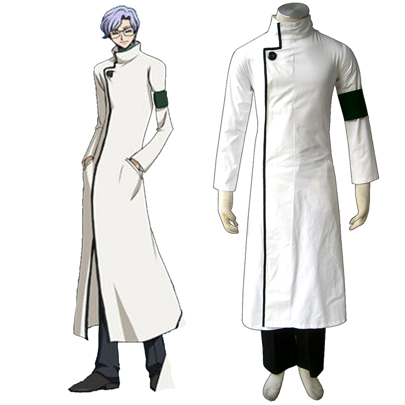 Code Geass Lloyd Asplund Anime Cosplay Costumes Outfit