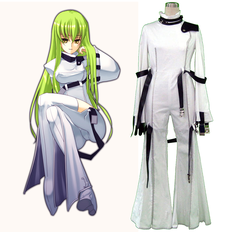 Code Geass C.C. 1 Anime Cosplay Costumes Outfit