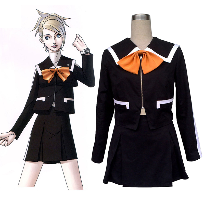 Persona 2: Innocent Sin Lisa Silverman 1 Anime Cosplay Costumes Outfit