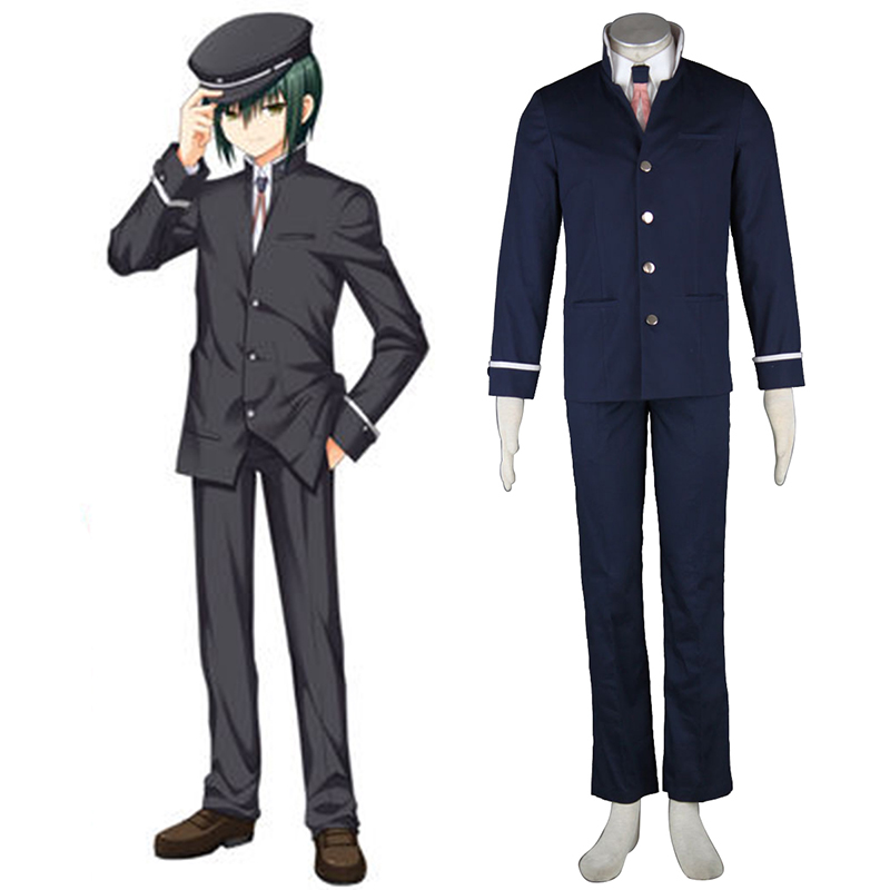 Angel Beats! Naoi Ayato Anime Cosplay Costumes Outfit