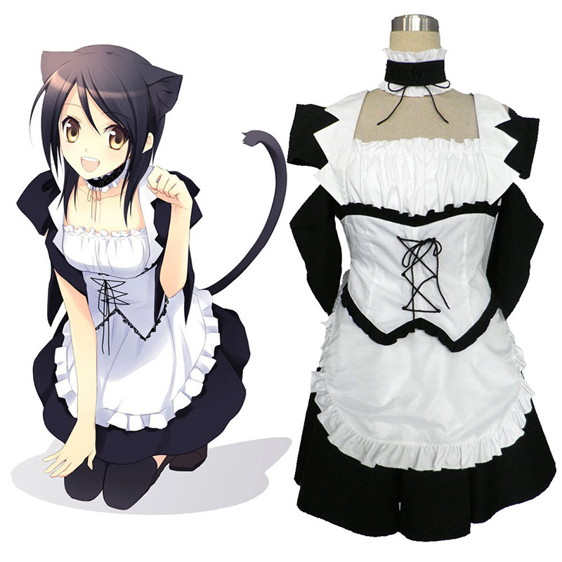 Maid Sama! Maid Latte 1 Anime Cosplay Costumes Outfit
