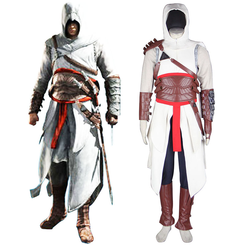 Assassin's Creed Assassin 1 Anime Cosplay Costumes Outfit
